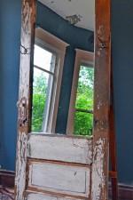 Full length standing mirror