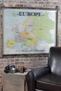 Vintage map of Europe art