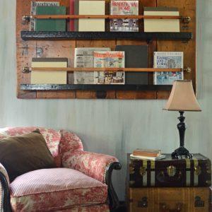 Unique bookshelf