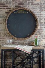 French country chalkboard