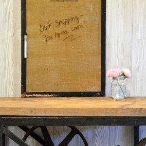 Vintage frame dry erase board