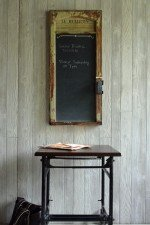 French style chalkboard