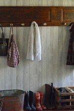 Ladies and gents coat rack