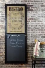 French kitchen chalkboard