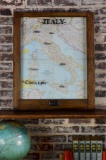 Vintage Italy Map