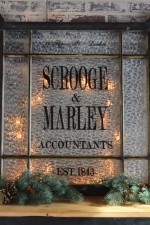 Scrooge & Marley wall art