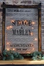 Scrooge and Marley Artwork