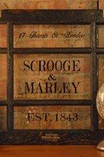 Scrooge & Marley Art - 9 pane window