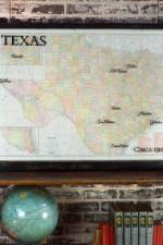 Large Antique Texas Map