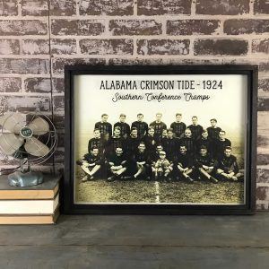 Vintage Crimson Tide Football photo