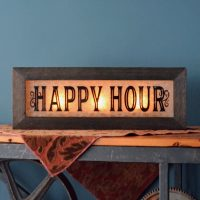 Vintage Style Lighted Bar Signs