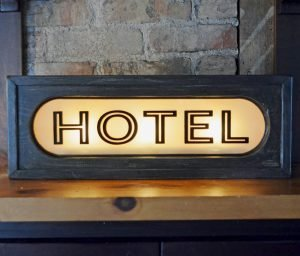 Vintage Lighted Signs