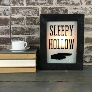 Sleepy Hollow Lighted Sign