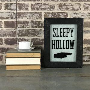 Sleepy Hollow Lighted Sign