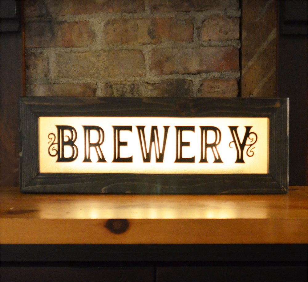 Vintage style lighted bar signs back lit signs for home bar wine vintage style boxed lighted signs aloadofball Choice Image