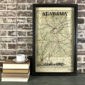 old Alabama map