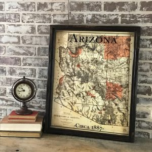 Reproduction Arizona map