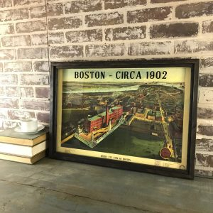 Vintage Boston Map