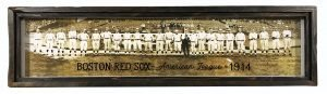 Vintage Boston Red Sox photo