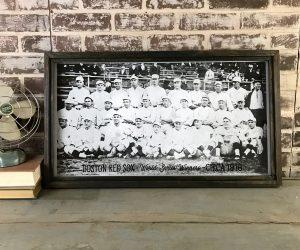 Vintage Red Sox team photo