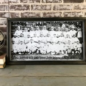 Vintage Red Sox team photo