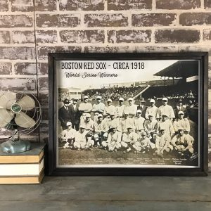 Vintage Red Sox photo