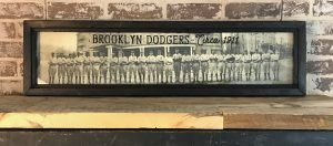 Vintage Brooklyn Dodgers Photo