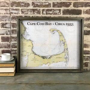 Vintage Cape Cod map