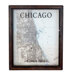 Chicago Quadrangle Survey Map