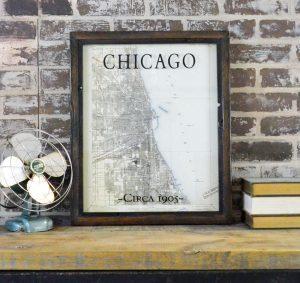 Chicago Quadrangle Survey Map