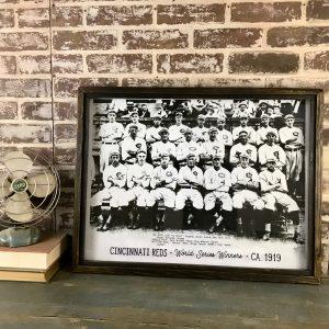 Vintage Cincinnati Reds photo