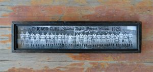 Vintage Chicago Cubs team photo