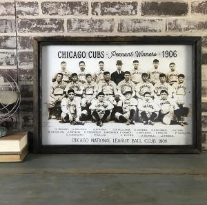 Vintage Chicago Cubs photo