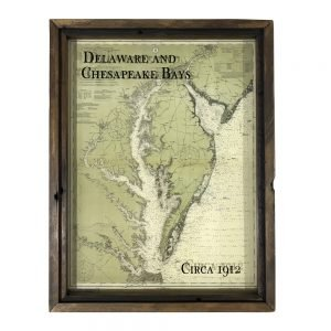 old Chesapeake Bay map