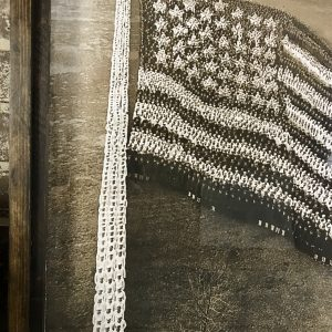 American flag formation photo