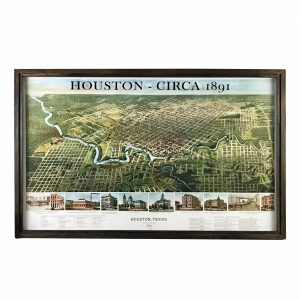 Vintage Houston Map