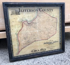 Jefferson County Kentucky Map