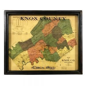 vintage Knox County map