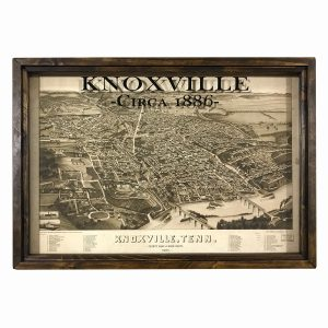 Vintage Knoxville map