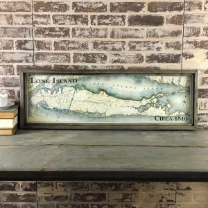 Vintage Long Island map
