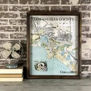 Old LA County Map
