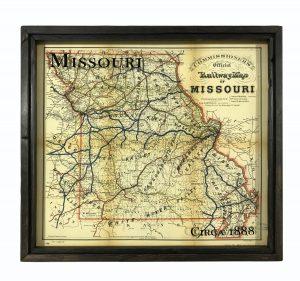 Vintage Missouri Map
