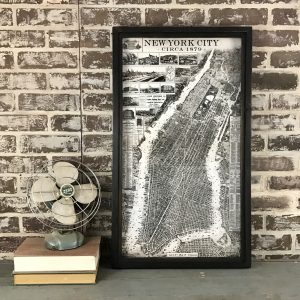 Antique New York Map