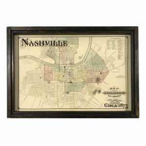Vintage Nashville Map
