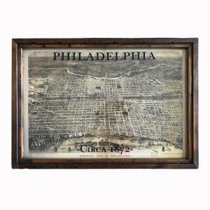antique Philadelphia map