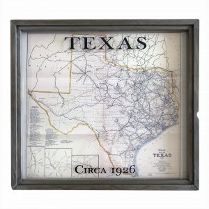 Texas Vintage Map