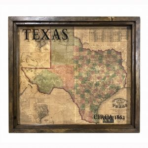 Antique Texas Map