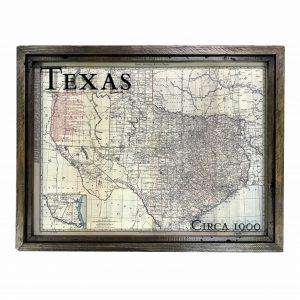 Texas Antique Map