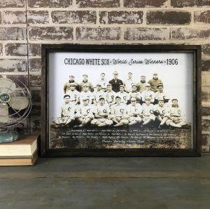 Vintage White Sox photo