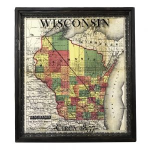 Antique Wisconsin Map